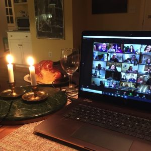 Online Shabbat service