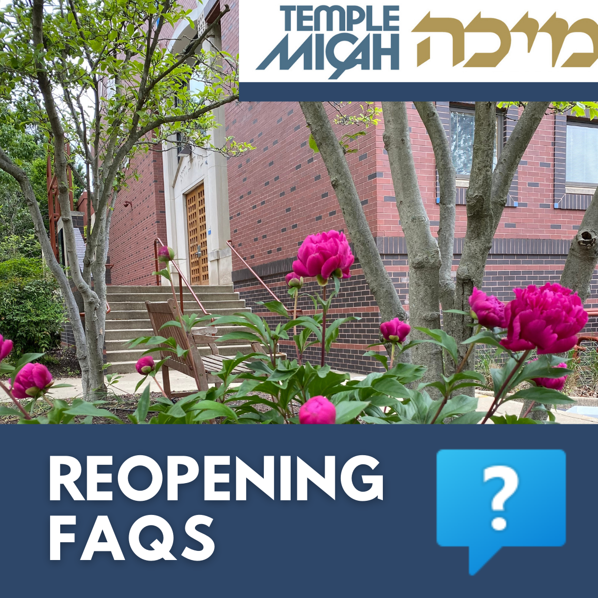 Temple Micah Reopening FAQs