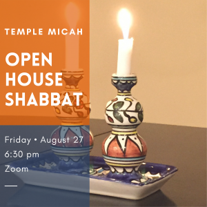 Open House Shabbat