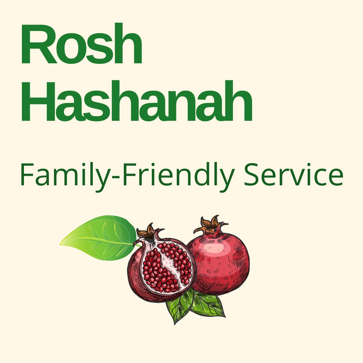 Rosh Hashanah Family Friendly Service
